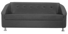 Mexico Three Seater Sofa in Black Colour