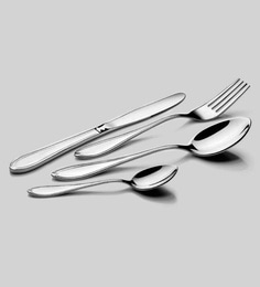 Meded Premium Quality Regal Stainless Steel Cutlerys - Set Of 24