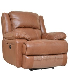 Mercedes Half Leather One Seater Electric Recliner in Brown Color  sc 1 st  Pepperfry & Recliner Sofas - Buy Recliners Online in India - Exclusive Designs ... islam-shia.org