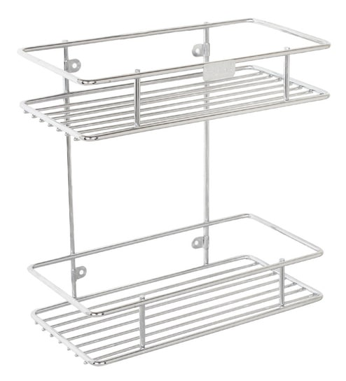 Buy Meded Multipurpose 2 Tier Stainless Steel Wall Mounted Kitchen ...