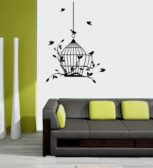 buy me sleep birds design pvc non toxic wall sticker online