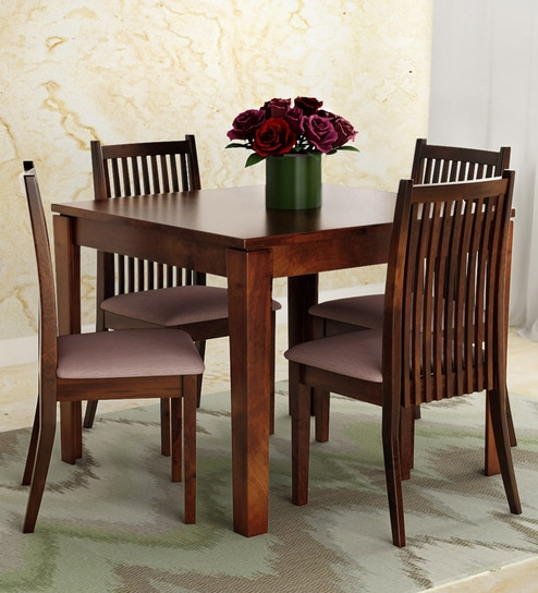 uk availability 26194 72225 Metro 4 Seater Dining Set in Espresso Finish by HomeTown