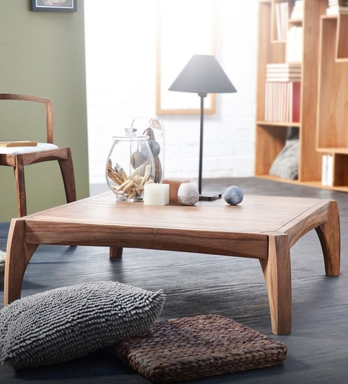 Marvelous Mexico Coffee Table In Natural Finish By Woodsworth Machost Co Dining Chair Design Ideas Machostcouk