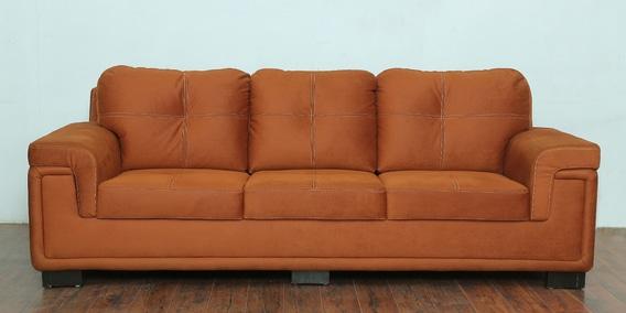 Phantom 3 Seater Sofa in Burnt Orange colour by Star India