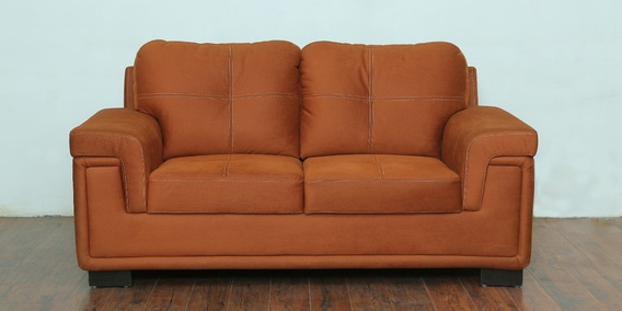Seater Sofa In Burnt Orange Colour