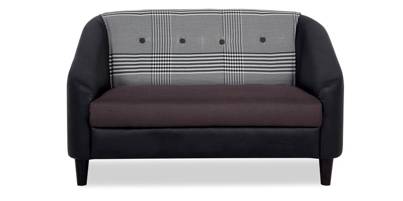 Pleasant Mexico Two Seater Sofa In Black Colour By Urban Living Ncnpc Chair Design For Home Ncnpcorg