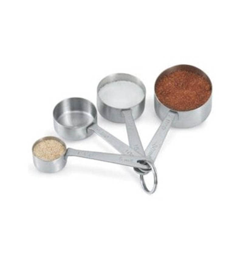 Measuring Cup Light With Strip Handle Stainless Steel Set