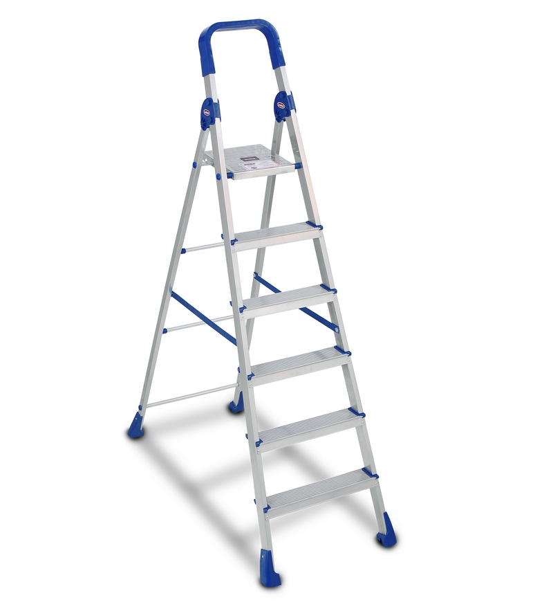 Blackstallion Smart Aluminium 6 Steps 6 FT Ladder