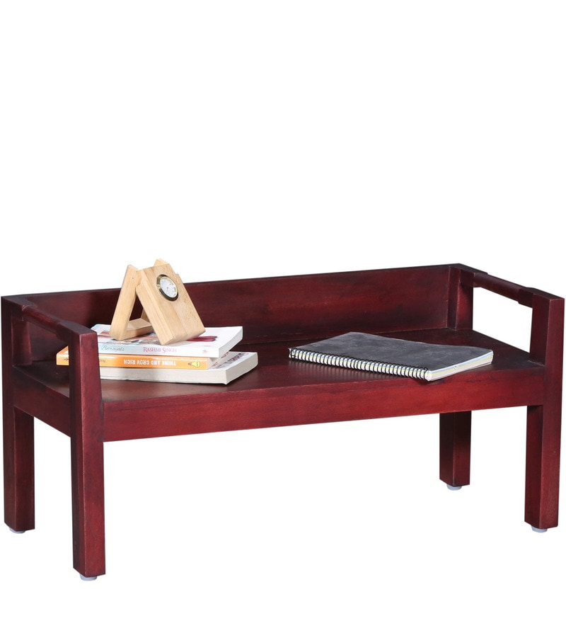 Buy Toledo Low Height Study Table In Passion Mahogany Finish By Woodsworth  Online   Contemporary Study U0026 Laptop Tables   Study U0026 Laptop Tables    Pepperfry