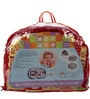 Mee Mee Baby Mattress Set with Mosquito Net & Pillow in Red