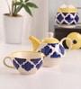 Meraki By Sonal Umrao Ceramic Tea Pot Set - Set Of 4