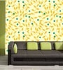 Yellow PVC Beautiful Wallpaper by Me Sleep