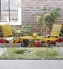 Lisheen Outdoor Garden Set in Yellow Color by Bohemiana