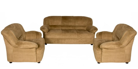 MF IV Fabric Sofa Set In Coco Colour By StyleSpa
