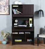Miko Study Table in Wenge Finish