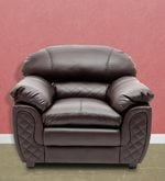 Mirage One Seater Sofa in Brown Colour