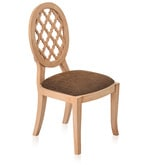 Miraya Dining Chair in Brown Glaze Colour
