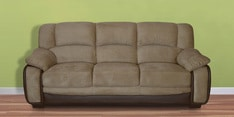 Mimosa Three Seater Sofa in Coffee Brown Colour