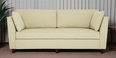 Miranda Three Seater Sofa in Beige Colour