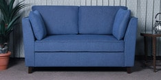 Miranda Two Seater Sofa in Denim Blue Colour