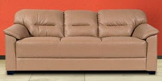Mirly Three Seater Sofa in Beige Colour