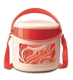 Milton Econa 2 Container Lunch Box, 300 ML, Red