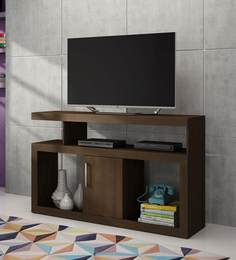 Miyuki Entertainment Unit in Tobacco Finish