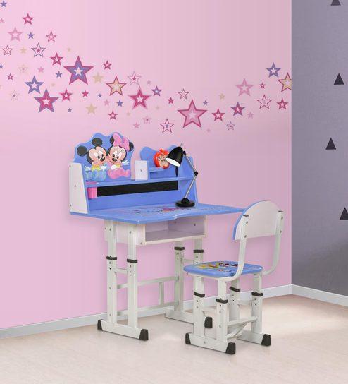 Mickey \u0026 Minnie Study Desk \u0026 Chair Set by Royal Oak & Buy Mickey \u0026 Minnie Study Desk \u0026 Chair Set by Royal Oak Online ...