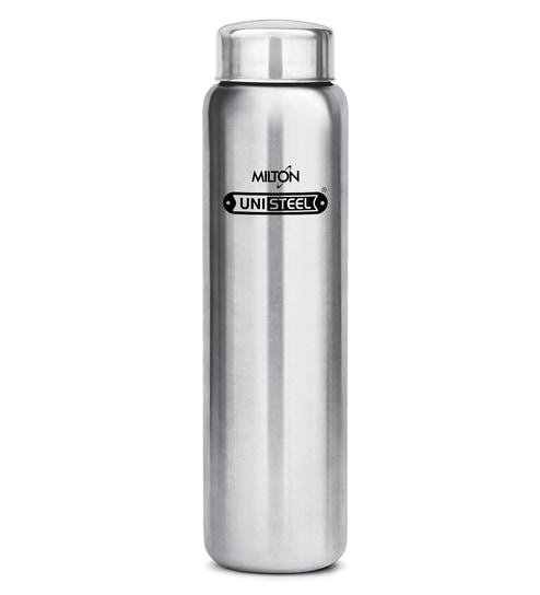 Buy Milton Aqua 930 Ml Silver Stainless Steel Fridge Water