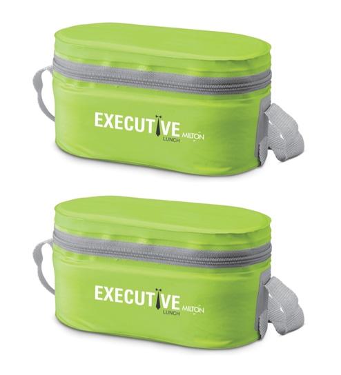 Plastic 300 ML Tiffin Bag - Set of 2