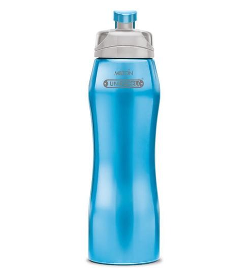 Milton Hawk 750 Ml Cyan Stainless Steel Fridge Water Bottle