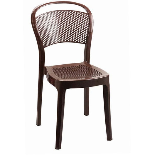 buy miracle dining chair set of two in brown by cello online