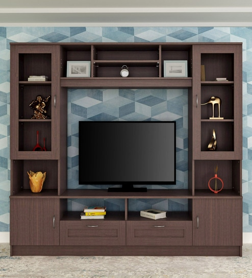 newest 41e64 bfb1a Missouri Wall TV Unit in Walnut By HomeTown
