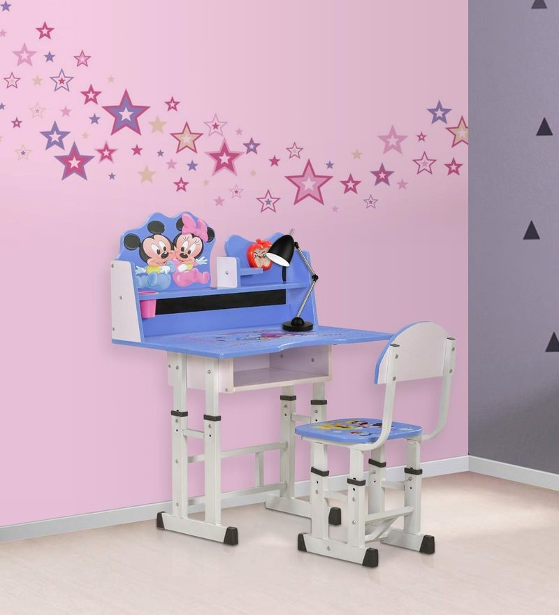 Mickey & Minnie Study Desk & Chair Set by Royal Oak
