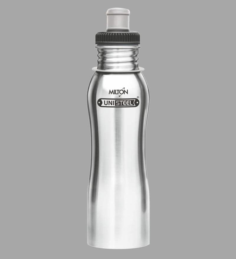 ed6d4c8e5b5 Buy Milton Easy Grip 750 ML Silver Stainless Steel Fridge Water ...