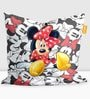 Mickey Mouse Kids Bean Bag with Beans in Multicolour by Orka(With Small - cushion Inside)