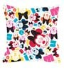 Mickey Mouse XXXL Kids Bean Bag with Beans in Multicolour by Orka(With Small - cushion Inside)