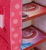 Mini Fabulous Kids Portable Wardrobe in Pink Colour by Disney