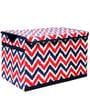 MixNMatch Navy & Red Storage Toy Chest by Bacati