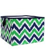 MixNMatch Navy & Green Storage Box Large by Bacati