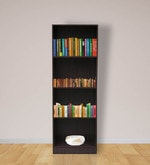 Morie Book Shelf in Light Cappuccino Finish