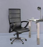Moscow High Back Office Chair in Black Colour