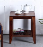 Mossyrock End Table in Honey Oak Finish