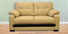 Mobil Two Seater Sofa in Beige Colour