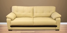 Monet Three Seater Sofa in Ivory Colour