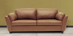 Montero Three Seater Sofa in Dark Almond Colour