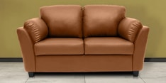 Montero Two Seater Sofa in Dark Almond Colour