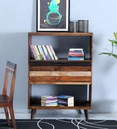 Monet Book Case In Dual Tone Finish