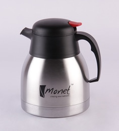 Monet Silver And Black Stainless Steel 1 L Ultima Pot