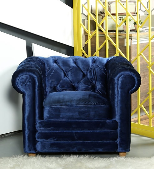 Modern One Seater Contemporary Sofa By Asanjo Furniture World